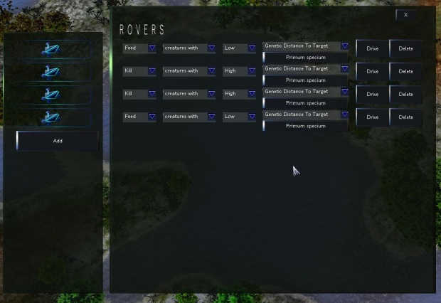 New Rover UI